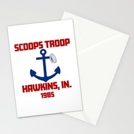 Scoops Troop Stationery Cards