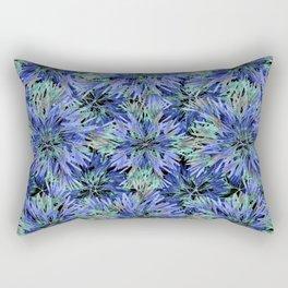 Modern Nature Print Pattern Rectangular Pillow