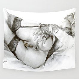 GARTERS, LACE and ANAL Wall Tapestry