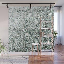 White Diamond Abstract Art Pattern 06 Wall Mural