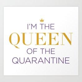 Queen of the Quarantine – Six the Musical Art Print