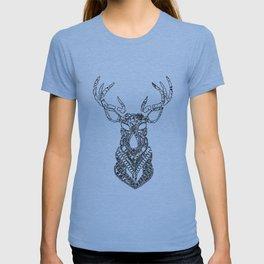 Christmas Reindeer Decorative Art T-shirt