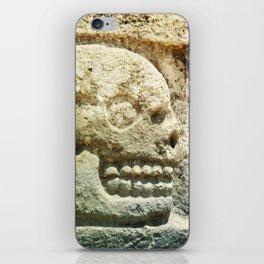 Mayan Stone Skulls iPhone Skin
