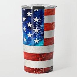 American Flag Art - Old Glory - By Sharon Cummings Travel Mug
