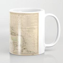 Map of the Caribbean Area (1789) Coffee Mug
