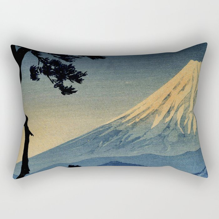 Seeing Far Within at Yonu Rectangular Pillow