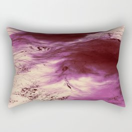 Lava Ocean Rectangular Pillow