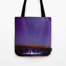 Exploring the night Tote Bag