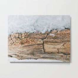 Wood Branch Metal Print