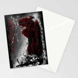 Red Elite - speed painting Stationery Cards