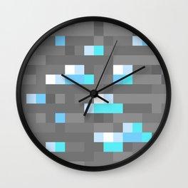 Diamond Ore Wall Clock