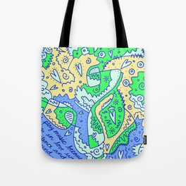 Silence and Sound Tote Bag