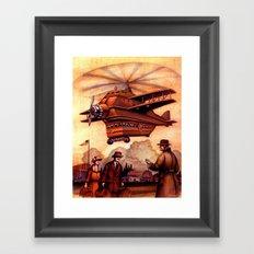 Heliplane Framed Art Print
