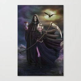Grim Reapers Canvas Print