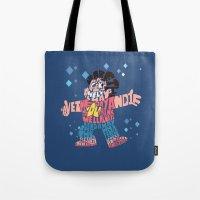 steven universe Tote Bags featuring Steven universe by Rebecca McGoran