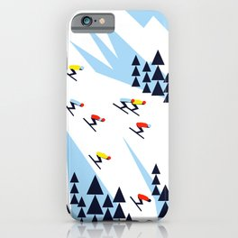 THE MOUNTAINS. NIGHT. iPhone Case