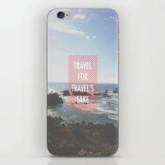 Travel iPhone & iPod Skin