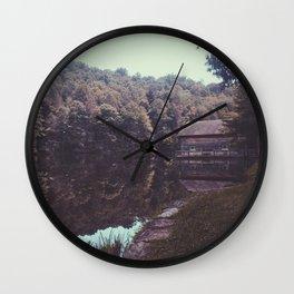 Julia Cabin Wall Clock