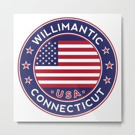 Willimantic, Connecticut Metal Print