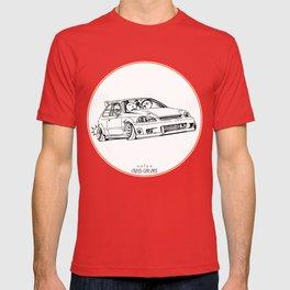 Crazy Car Art 0217 T-shirt