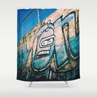 bender Shower Curtains featuring Bender Bending Rodriguez by grafik ' prod