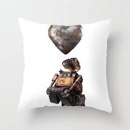 Wall E Throw Pillow