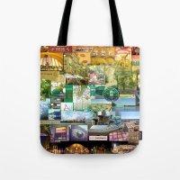 cincinnati Tote Bags featuring Cincinnati Spectrum by Stacey Cat