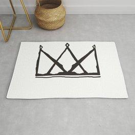 Minimalist Crown Rug