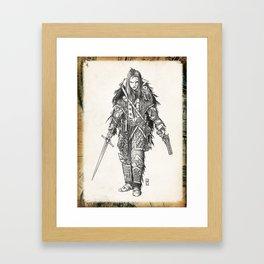 Raven Enclave Executioner Framed Art Print