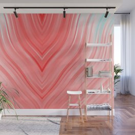 stripes wave pattern 3 2si Wall Mural