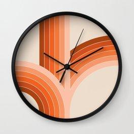 Red Rock Bounce Wall Clock