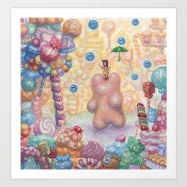 Little Dreams Art Print