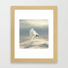 Free Falling Dream Framed Art Print