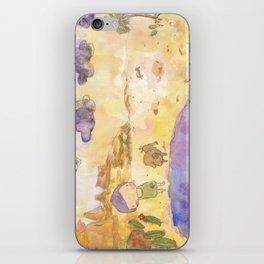 Follow u instinct to find yr path iPhone Skin