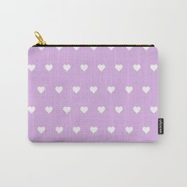 Purple Heart Pops Carry-All Pouch
