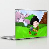 zelda Laptop & iPad Skins featuring Zelda! by Afro Pig