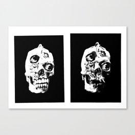 """Pathos"" (TEETH/NO TEETH) Canvas Print"