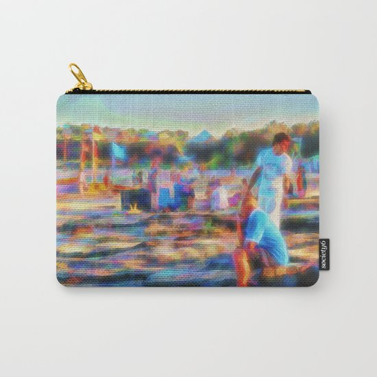 Summer fun at the beach Carry-All Pouch