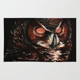 Owl, Barred Owl, Bird Rug