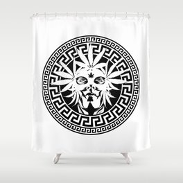 GIANNI W&B Shower Curtain