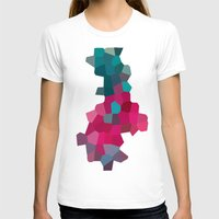 crystals T-shirts featuring Crystals by Samantha Ranlet