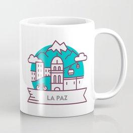 Travel: La Paz, Bolivia Coffee Mug