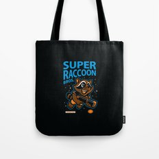 Super Raccoon Tote Bag