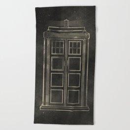 Doctor Who: Tardis Beach Towel
