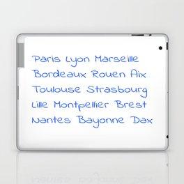 France's Cities- France, Français,française, French,romantic,love,gastronomy Laptop & iPad Skin