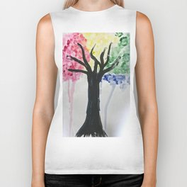 Weeping willow Biker Tank