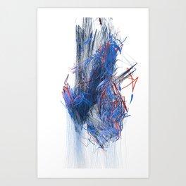Unwelcome Gaze – Facebook 5 Art Print