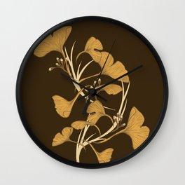 Gingko, Golden Life Wall Clock