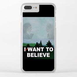 THE SWAN QUEEN IS OUT THERE Clear iPhone Case