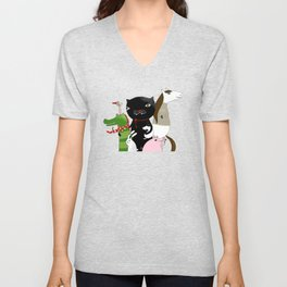 United Animals Unisex V-Neck